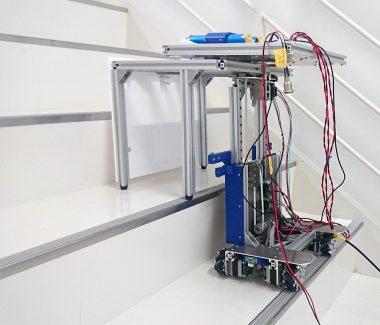 階段昇降ロボットの開発